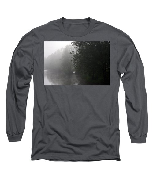 A Foggy Morning In Pennsylvania Long Sleeve T-Shirt