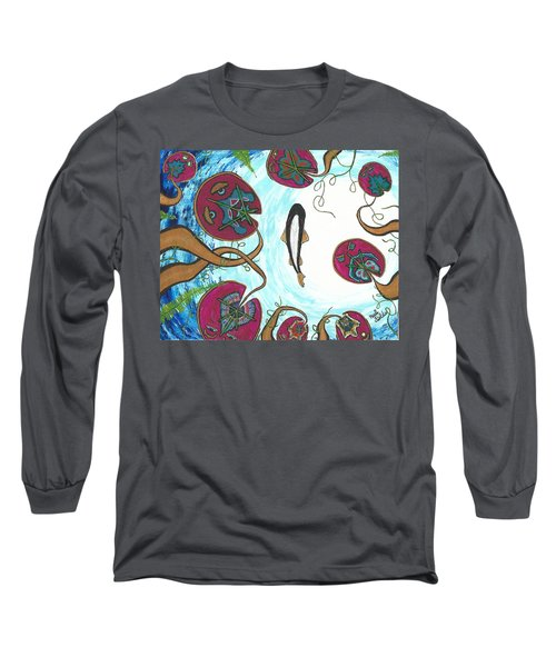 A Frog's Sky View Long Sleeve T-Shirt