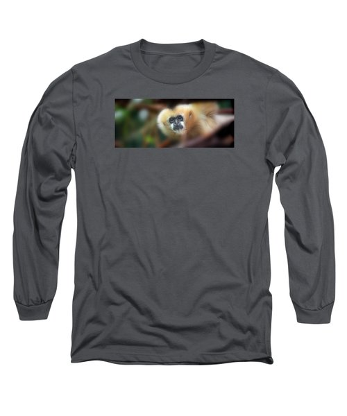 A Gibbon's Stare Long Sleeve T-Shirt