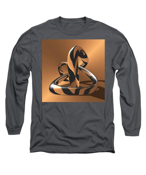 A Golden Anaconda Long Sleeve T-Shirt