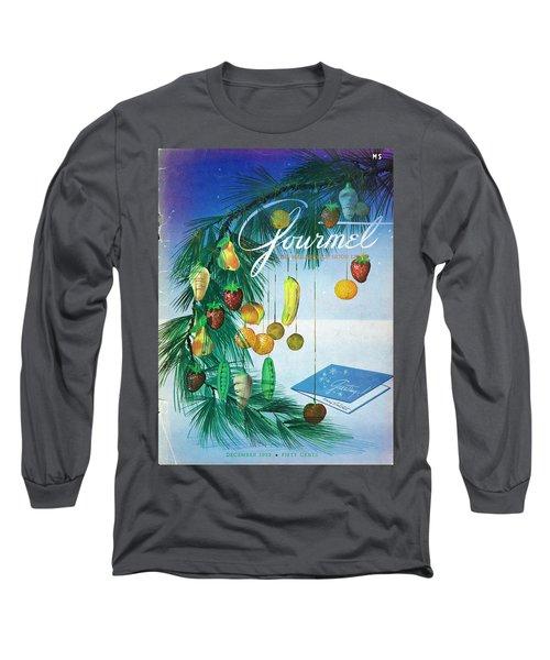 A Gourmet Cover Of Marzipan Fruit Long Sleeve T-Shirt