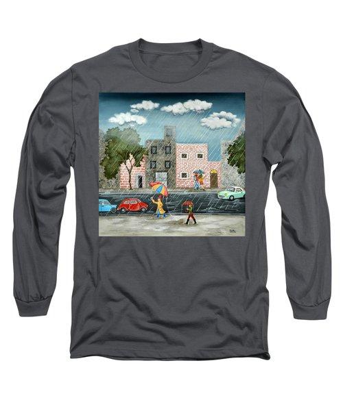 A Great Rainy Day Long Sleeve T-Shirt