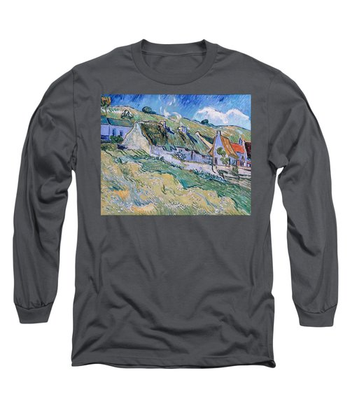 A Group Of Cottages   Long Sleeve T-Shirt