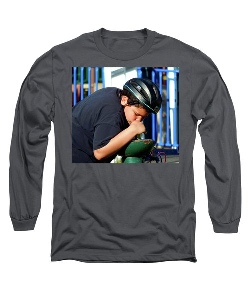 A Guy Gets Thirsty Ya Know Long Sleeve T-Shirt