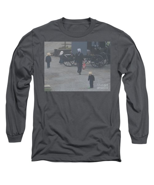 A Handful For Mom Long Sleeve T-Shirt