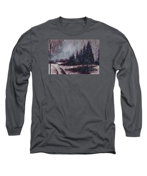 A Hazy Shade Of Winter  Long Sleeve T-Shirt