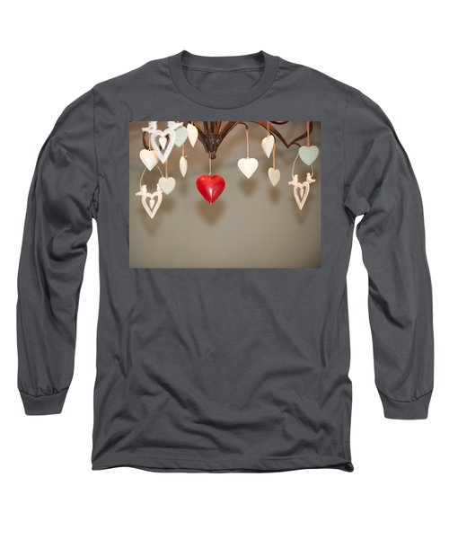 A Heart Among Hearts I Long Sleeve T-Shirt