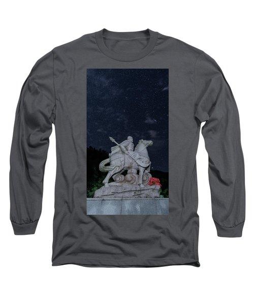 A Hero's Starscape Long Sleeve T-Shirt