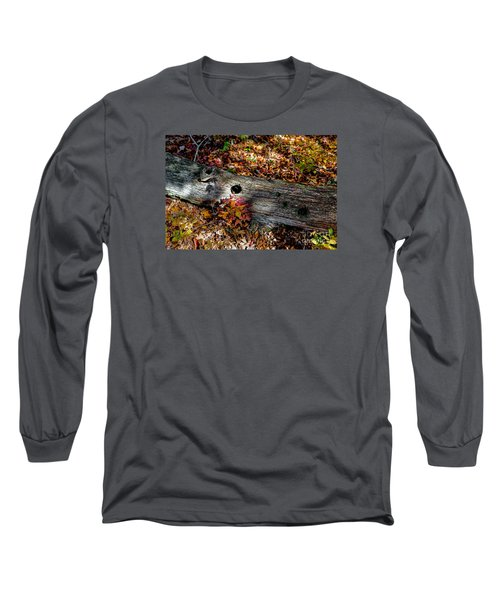 A Hole In A Log Long Sleeve T-Shirt