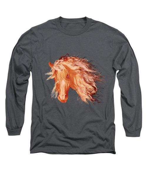 A Horse Called Copper Long Sleeve T-Shirt