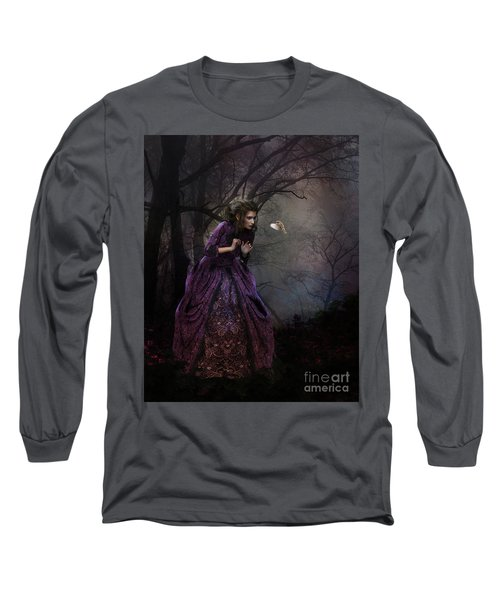 A Little Bird Told Me Long Sleeve T-Shirt by Shanina Conway