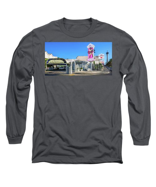 A Little White Chapel From The North 2 To 1 Ratio Long Sleeve T-Shirt by Aloha Art