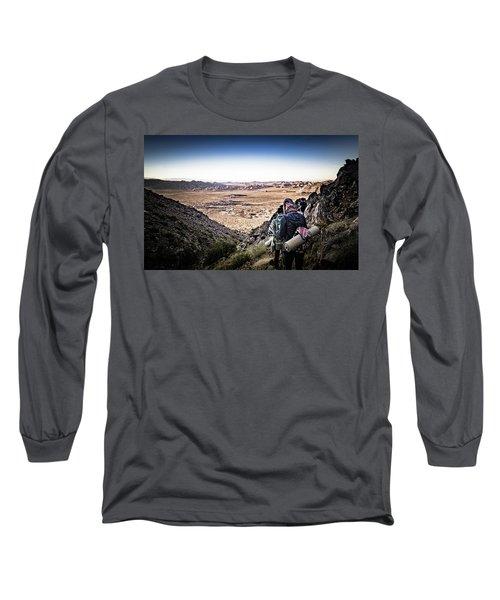 A Long Walk Through Joshua Tree Long Sleeve T-Shirt