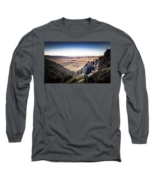 A Long Walk Through Joshua Tree Long Sleeve T-Shirt