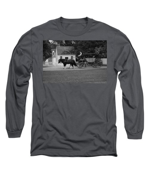 A Look Back Long Sleeve T-Shirt by Eric Liller