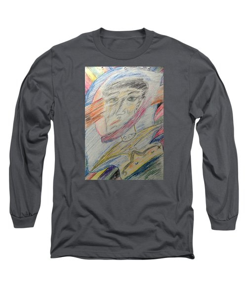 A Man And His Thoughts Long Sleeve T-Shirt