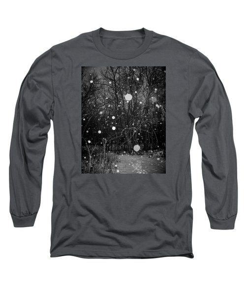 Long Sleeve T-Shirt featuring the photograph A Message by Annette Berglund