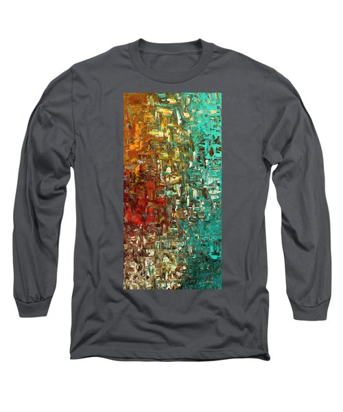 A Moment In Time - Abstract Art Long Sleeve T-Shirt