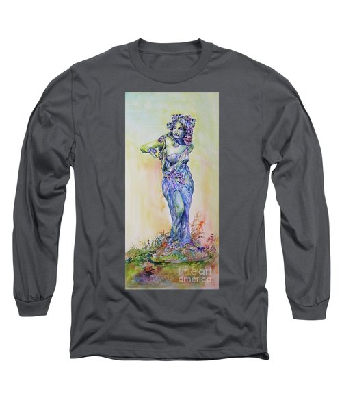 A Moment In Time Long Sleeve T-Shirt by Mary Haley-Rocks