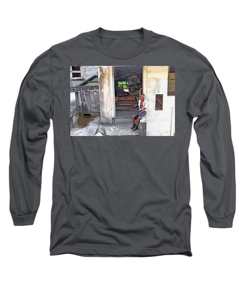 A Moment Of Reflection Long Sleeve T-Shirt