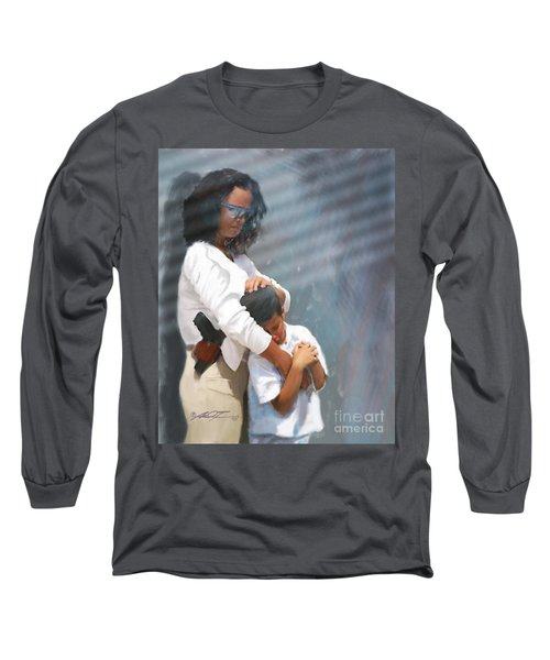A Mother's Arms Long Sleeve T-Shirt