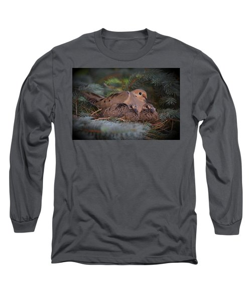 A Mother's Love Long Sleeve T-Shirt by Gary Smith
