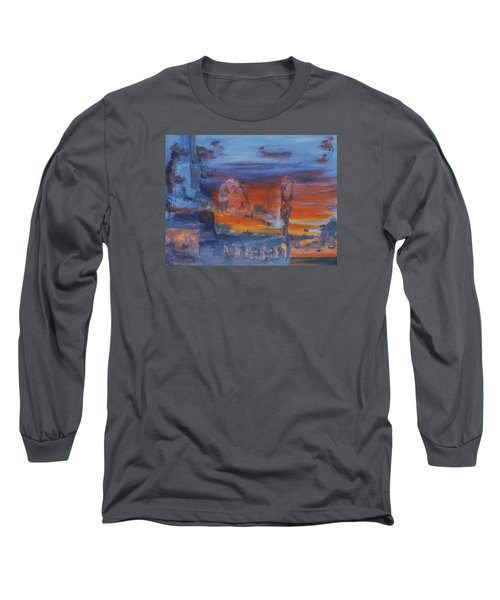 A Mystery Of Gods Long Sleeve T-Shirt by Steve Karol