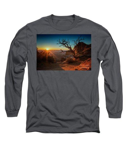 A New Day Dawns Long Sleeve T-Shirt by Kristal Kraft