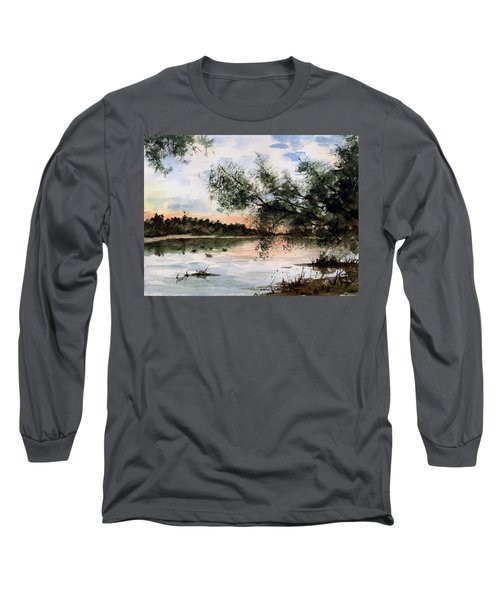 A New Day Long Sleeve T-Shirt by Sam Sidders