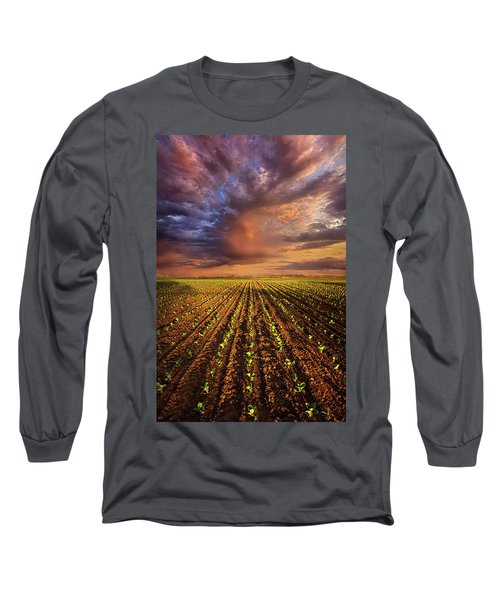 Long Sleeve T-Shirt featuring the photograph A New Season by Phil Koch