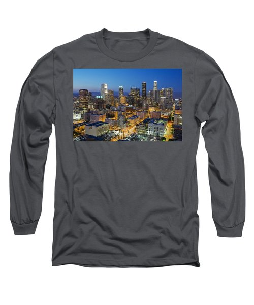 A Night In L A Long Sleeve T-Shirt by Kelley King