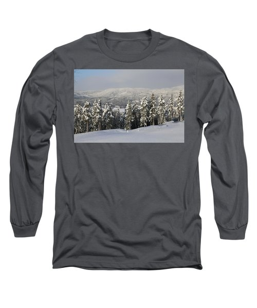 A Norwegian Valley  Long Sleeve T-Shirt