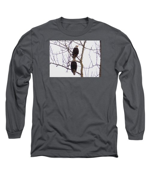 A Pair Of Eagles Long Sleeve T-Shirt by Karen Molenaar Terrell