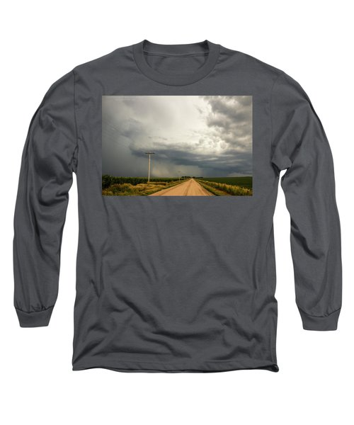 A Passion For Shelf Clouds 001 Long Sleeve T-Shirt