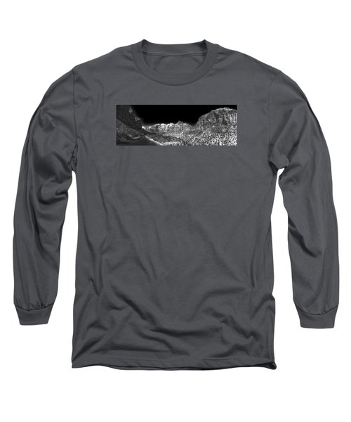 Long Sleeve T-Shirt featuring the digital art A Path Through Zion by William Fields