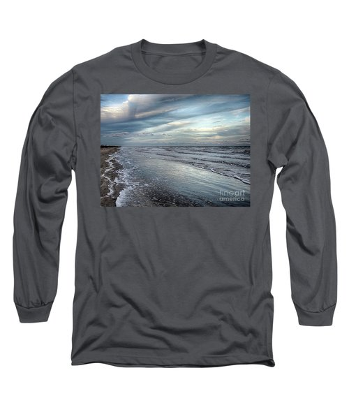 A Peaceful Beach Long Sleeve T-Shirt