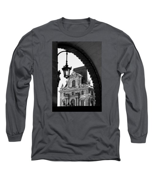 A Peak To The Louvre Long Sleeve T-Shirt