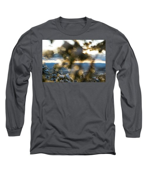 A Peek At Taos Mesa Long Sleeve T-Shirt