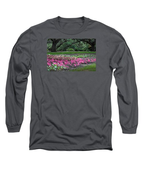 A Place Of Refuge Long Sleeve T-Shirt by Suzanne Gaff