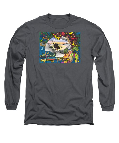 A Punch Through Long Sleeve T-Shirt by Darren Cannell