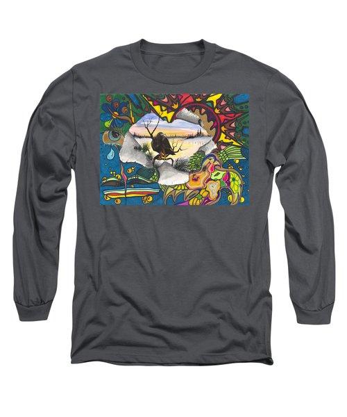 A Punch Through Long Sleeve T-Shirt