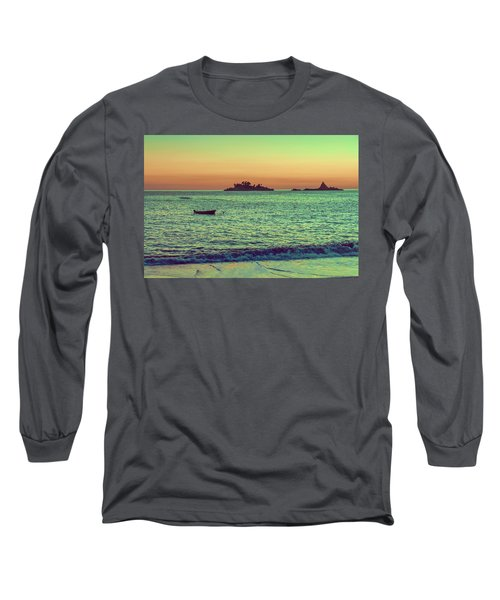 A Quiet Summer Evening On The Montenegrin Coast Of The Adriatic Sea Long Sleeve T-Shirt