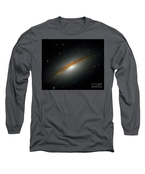 Long Sleeve T-Shirt featuring the photograph Fastest Spinning Galaxy by Nicholas Burningham