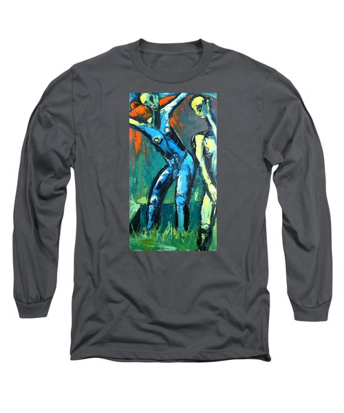 A Resurrection Long Sleeve T-Shirt by Kenneth Agnello