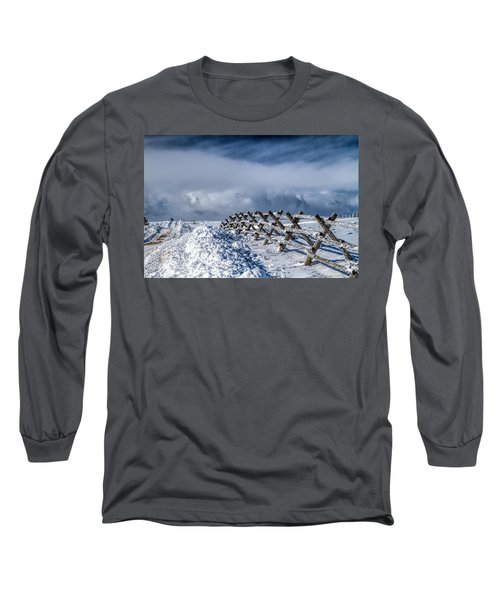 A Road Less Traveled Long Sleeve T-Shirt