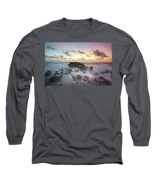 A Rocky Sunrise. Long Sleeve T-Shirt