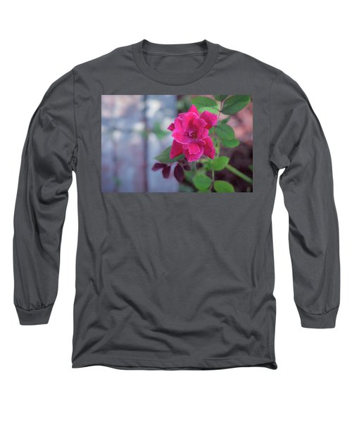 A Rose And A Hard Place Long Sleeve T-Shirt