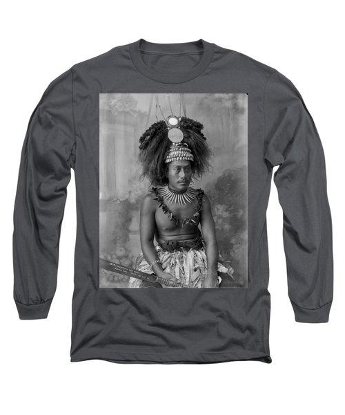 A Samoan High Chief Long Sleeve T-Shirt