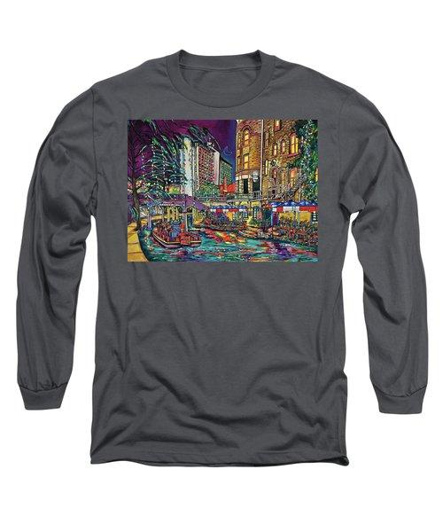 A San Antonio Christmas Long Sleeve T-Shirt