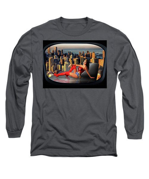 A Seat With A View Long Sleeve T-Shirt